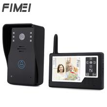 Video Intercom Doorbell Door Phone Intercom System 3.5 inch TFT Wireless