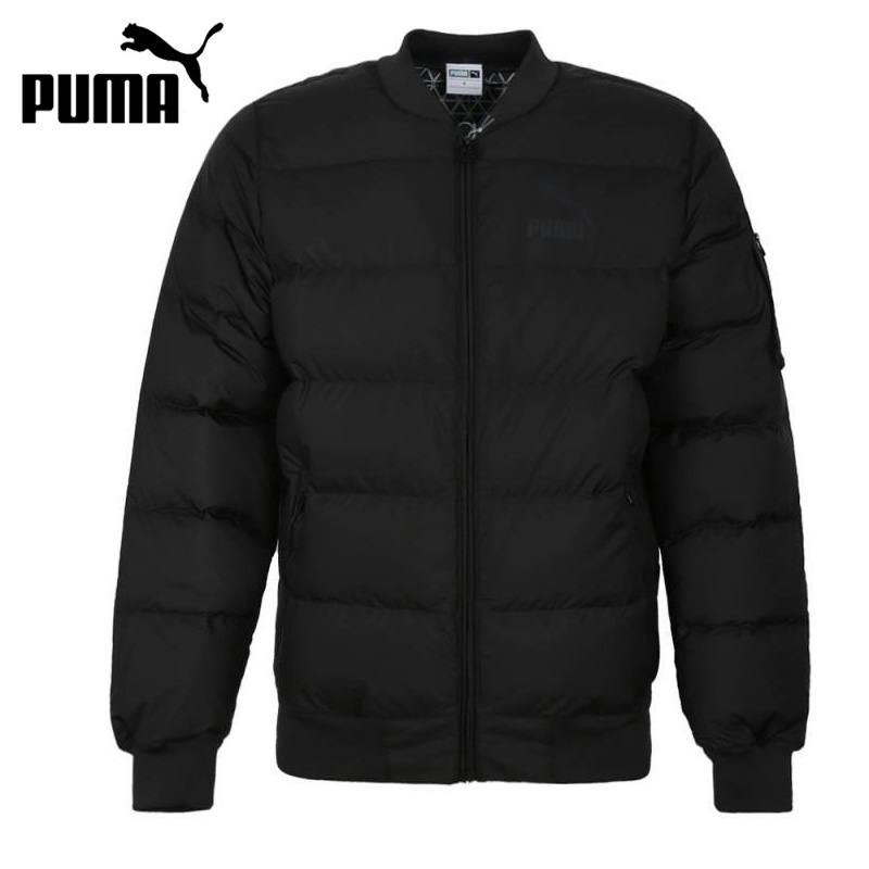 Original New Arrival  PUMA Powerwarm Duck Down Bomber Men's Down Coat Hiking Down Sportswear