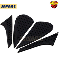 For KAWASAKI Z125 2016 Motorcycle Tank Antiskid Traction Pad Side Knee Grip Protector Anti Slip Sticker