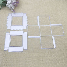 Julyarts 288*212mm Box Die Metal Cutting Stencil For Scrapbooking Stamps DIY Card Making Crafts Cut Stitch