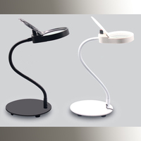 New Lamp Magnifier Table Top Desk LED Lamp Reading 3x 10x Large Lens With 26pcs Dimmable LEDs Magnifying Glass Desk Lamp