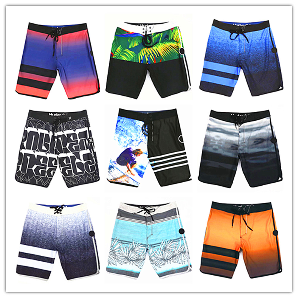 Top Selling 2019 Brand Phantom Men Beach   Board     Shorts   Swimwear Adults Masculina Swimsuit 100% Quick Dry Spandex Modal Swimtrunks