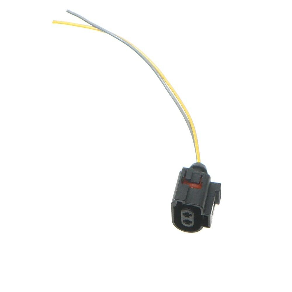 Rear Servo Motor Handbrake Caliper Cable Socket Adapter New For CC Tiguan Passat B6 B7 CC Sharan Q3 A6 Q5 A4 A5 1J0 973 722 A