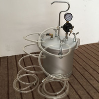 SAT8000 Powder Barrel High Pressure Chemical Buckets for Painting High Quality Paint Bottle 10L