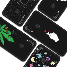 TPU Silicone Pattern Case For Huawei P20 Lite Mate 10 Pro P10 P8 P9 Lite 2017 Nova 2i Painted Slim Cover For Honor 8 Lite 9i(China)