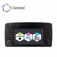 Ownice C500 Android 6.0 Quad Core 2 Din 7 Car DVD Player GPS For Mercedes GL ML CLASS W164 X164 ML350 ML450 GL320 GL450 Wifi 4G
