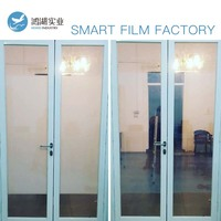 Sunice 7pcs customized Size Privacy Magic PDLC Smart Film Building /Automobile window tint Magic smart film 2 Power supply