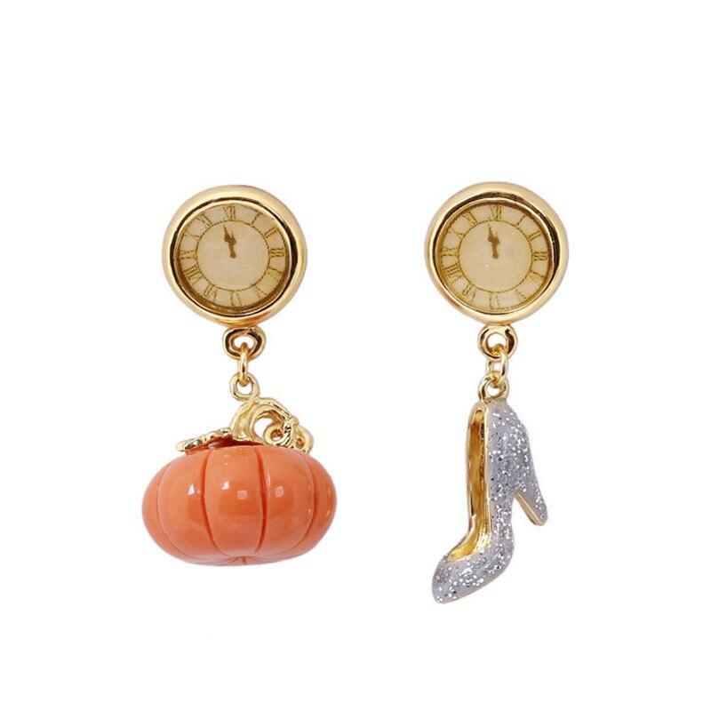 French Jewelry Enamel Glaze Fairy Tale Series Cinderella Clo