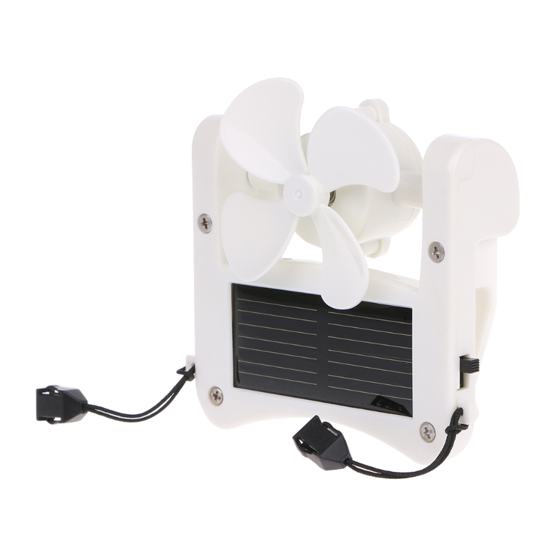 2019 Mini Solar Power/USB Portable Cap Hat Clip On Fan Hanging Desktop Camping Student Cooler Air Conditioning Appliance