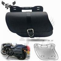alforjas para mochila pernera bolsa moto saddlebag for Vespa harley Davidson softail sportster givi motorcycle side saddle bags