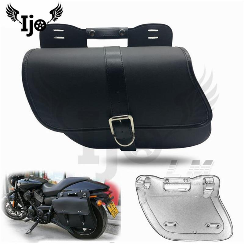 pernera moto saddle bag for Vespa honda harley softail mochila moto sportster sacoche moto alforjas para moto motorcycle bag