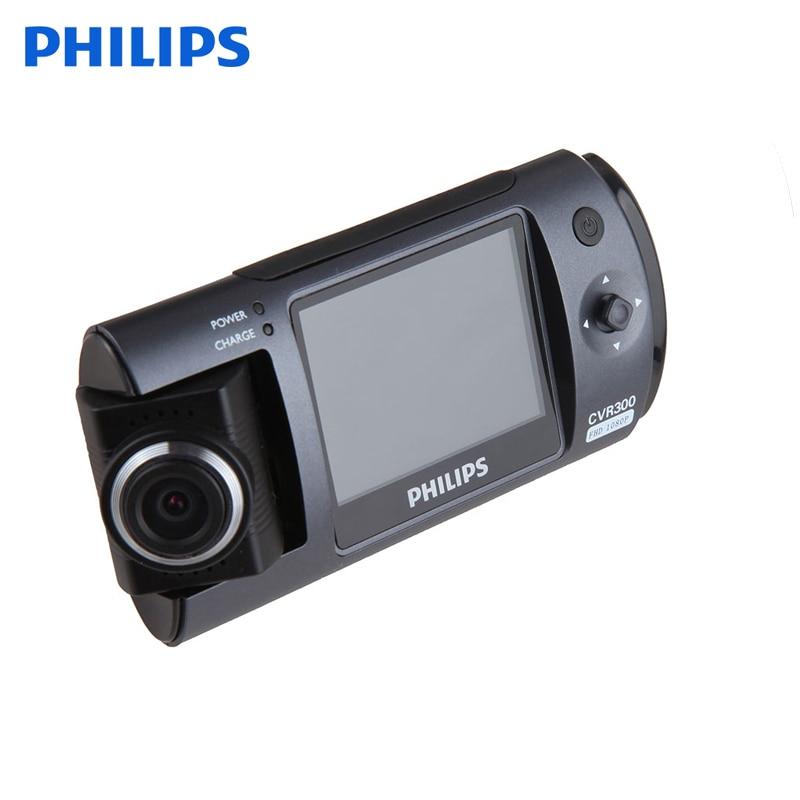 Philips CVR300 Original Car DVR Camera Full HD Video Recorder With Rotatable Camera Cycling Recording Dash Cam Black Box