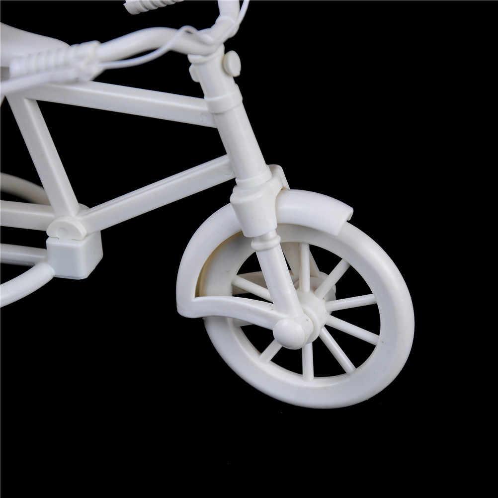 Cesta de flor em rattan para bicicleta, cesta flutuante, suporte de plantas, organizador de design de bicicleta, 1 peça