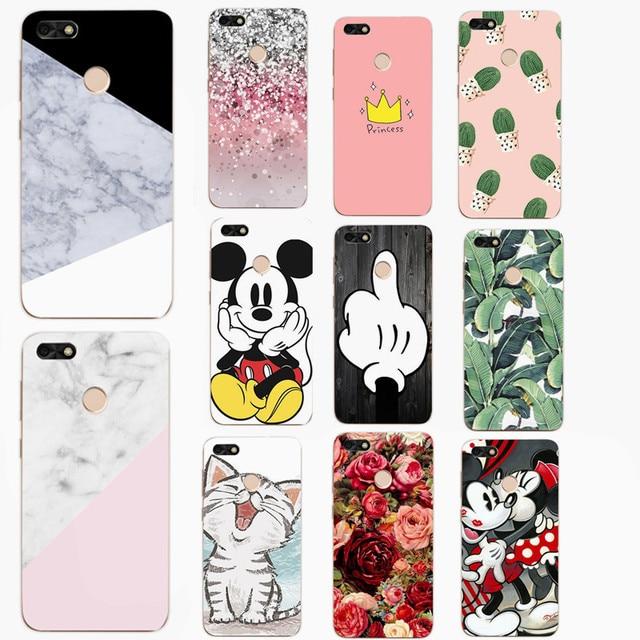 2368e8d7278 Case Fundas For Huawei P9 Lite Mini Soft TPU Flowers Case Cover For Huawei  P9 Lite Mini 5.0