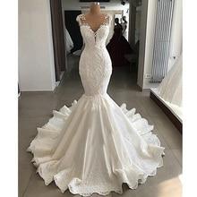 DLOVE BRIDAL Sexy Mermaid Wedding Dress Dresses with