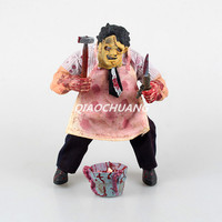 Movie Mezco Saw The Texas Chainsaw MASSACRE Leatherface PVC Action Figure Collectible Model Toy 23cm Boxed