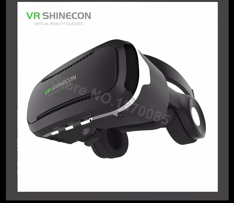 Newest VR Shinecon 4.0 Google cardboard VR BOX with Headphone VR Virtual Reality 3D Glasses PK Z4 For 4.5-6.0 inch Smartphone (12)
