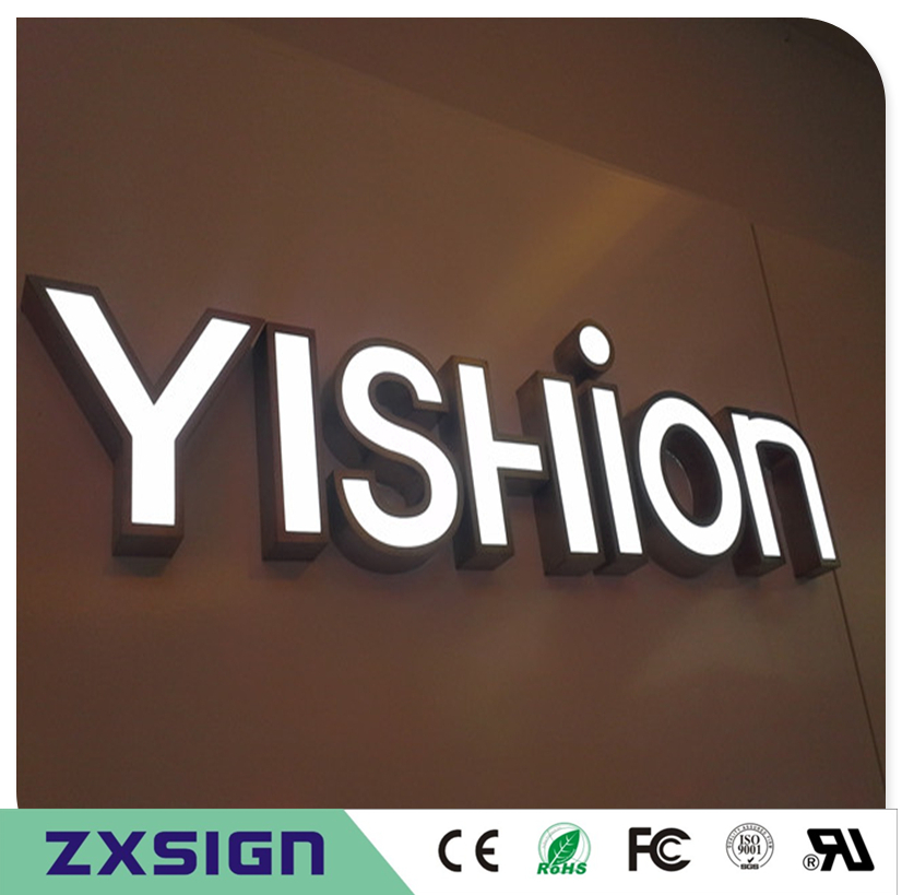 Factory Outlet Custom Outdoor Acrylic LED Shop Signs, Led Lighting Letters,channel Letters Wholesale