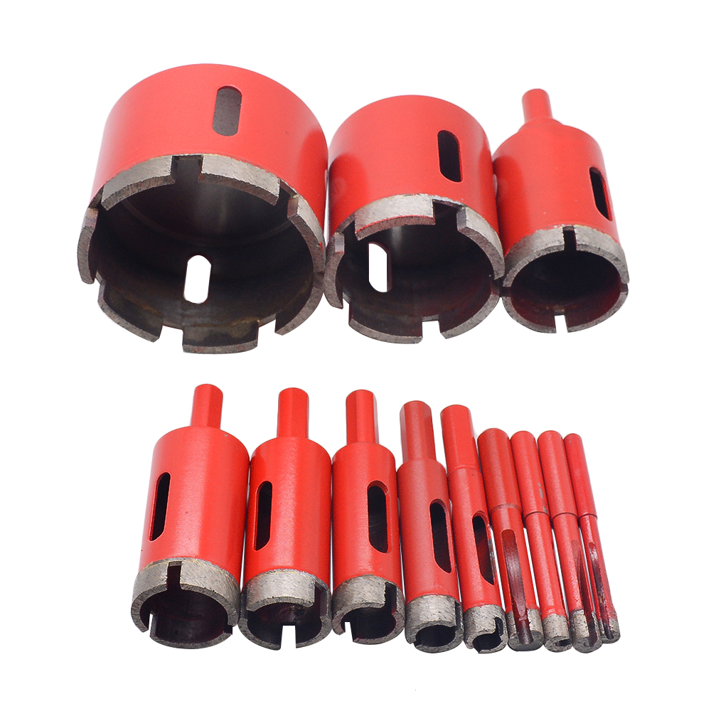 1PC 6-95mm 8mm 28mm Marble Opener Diamond Core Bit Hole Saw Drill Bit For Marble Granite Brick Tile Ceramic  Concrete Drilling