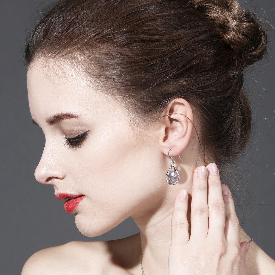 FENASY Perle dråbe øreringe Perle smykker retro choker til kvinder - Smykker - Foto 4