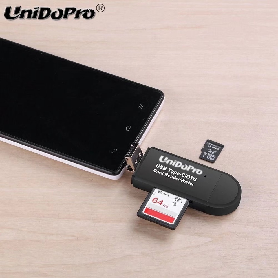 SanFlash PRO USB 3.0 Card Reader Works for Sony Xperia L1 Adapter to Directly Read at 5Gbps Your MicroSDHC MicroSDXC Cards