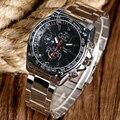 Nova Chegada Black/White Dial Quartz Relógio Das Mulheres Dos Homens Ourdoor Moda Fresco relógio de Pulso Relógio Analógico relogio masculino relogio