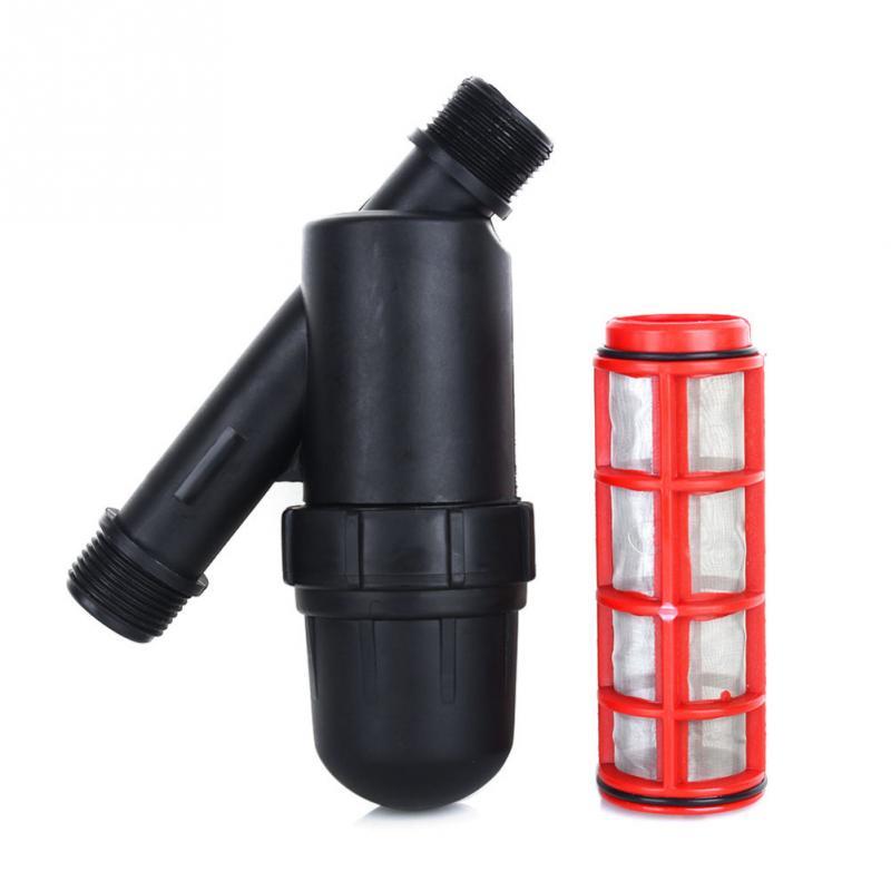 Metall Net Filter Bildschirm Sprayer 3/4 Zoll 120 Mesh Gartenarbeit Tropf Bewässerung Brunnen Werkzeuge