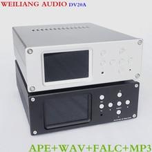 Brise Audio DV20A Platine Numérique USB/SD/APE/FLAC/WAV Lossless Lecteur 3.5 »IPS/TFT/LCD Affichage AK4495 + MUS8820 (8920)