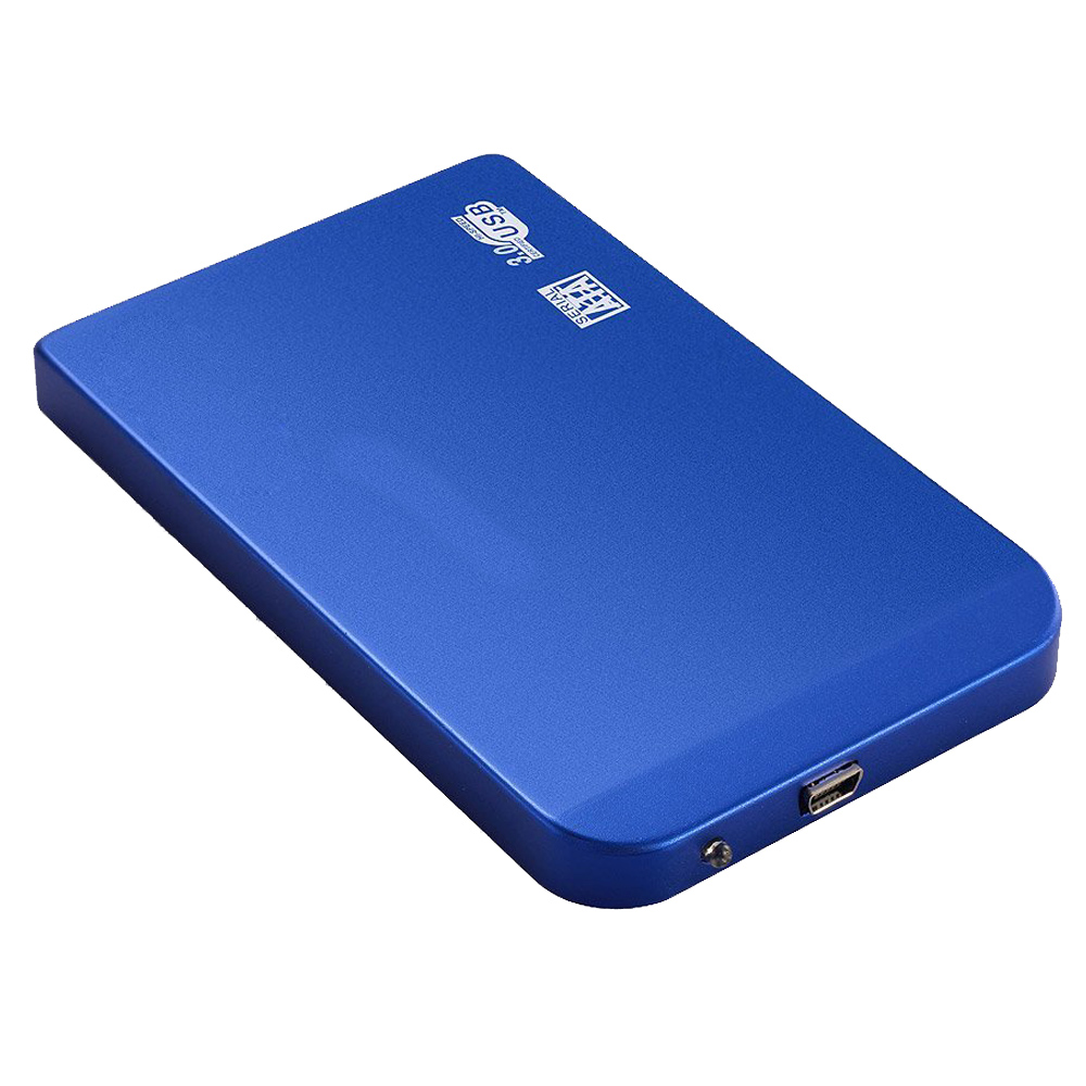 Outside Box Case for 2.5 SATA HDD Hard Disk Drive Hard Drive USB 3.0 Compatible with Windows 2000 / Windows Me / Windows 98 /