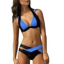 882729b31ea09 2019 النساء مثير جديد أزياء عارضة بيكيني النساء الرسن ضمادة مثير ملابس  السباحة النساء الشاطئ ارتداء