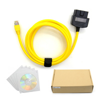 10pcs Free Shiping ESYS 3 23 4 V50 3 Data Cable For Bmw ENET Ethernet To