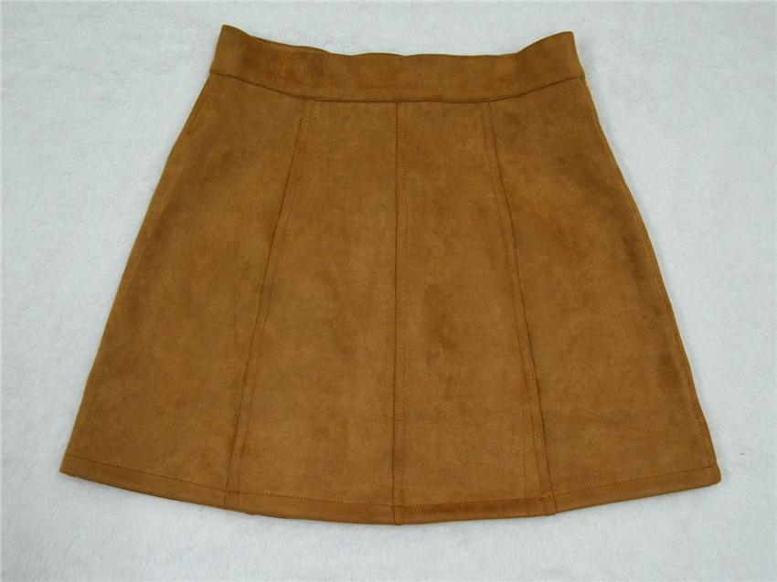 HTB1WY6TPpXXXXaFXFXXq6xXFXXXp - Spring Button Suede Leather Skirts JKP058