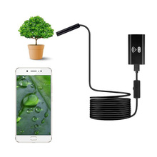 Wireless WiFi Endoscope 720P HD 8mm Pipe Endoscope Camera Wifi Outdoor 2M Hard Cable USB Endoscope Camera Android iPhone Camera