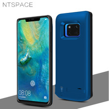 6000mAh Battery Charger Cases For Huawei Mate 20 Pro Silicone Shockproof Case Portable Power Bank Charging Back Cover