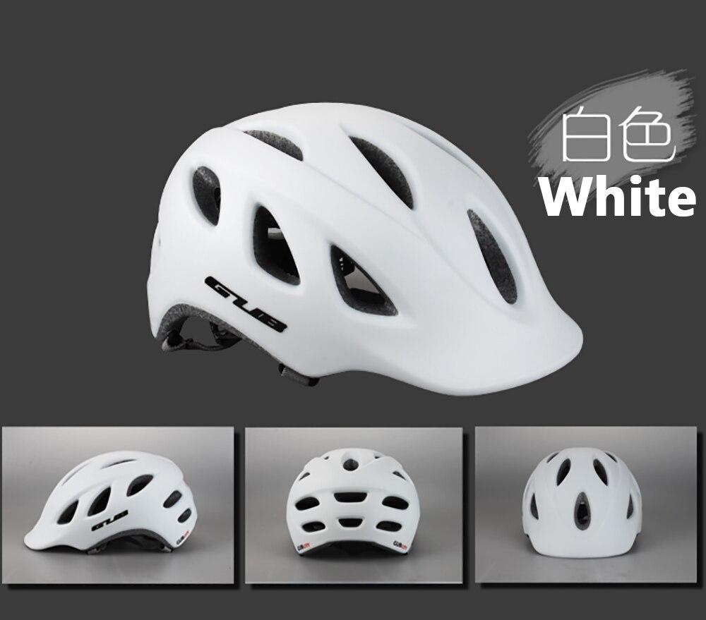 GUB CITY Ultralight Integrally-molded Cycling Helmet MTB Road Bike Casco Ciclismo Safe Cap 18 Air Vents 57-60cm Bicycle Helmet