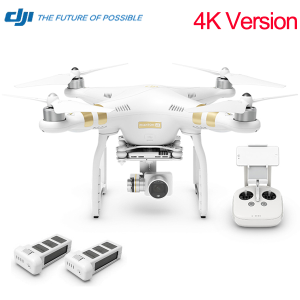 Newest Version Original DJI Phantom 3 4K With Extra battery Quadcopter Helicopter RC Drone (Its not DJI Phantom 3 Professional )