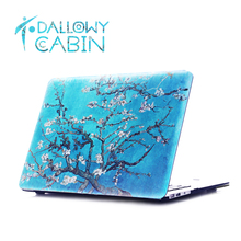 DallowayCabin Hot New Release Fashionable Original Design Fancy Oil Painting Protective Case Cover for Macbook 11 12 13 15 inch