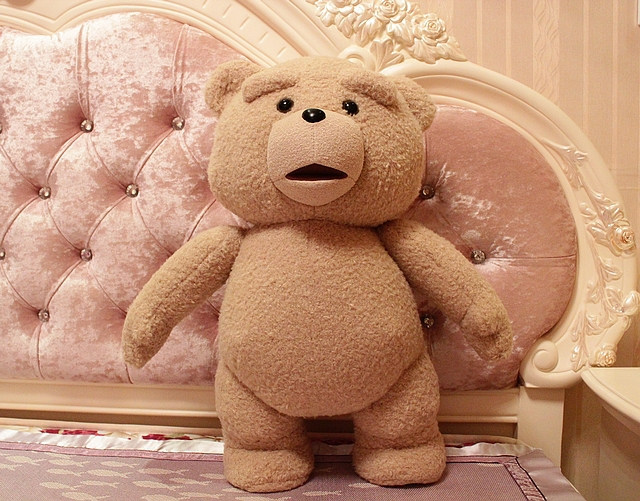 new  creative plush bear toy big teddy bear doll birthday gift about 60cm agatha christie hercule poirot s christmas
