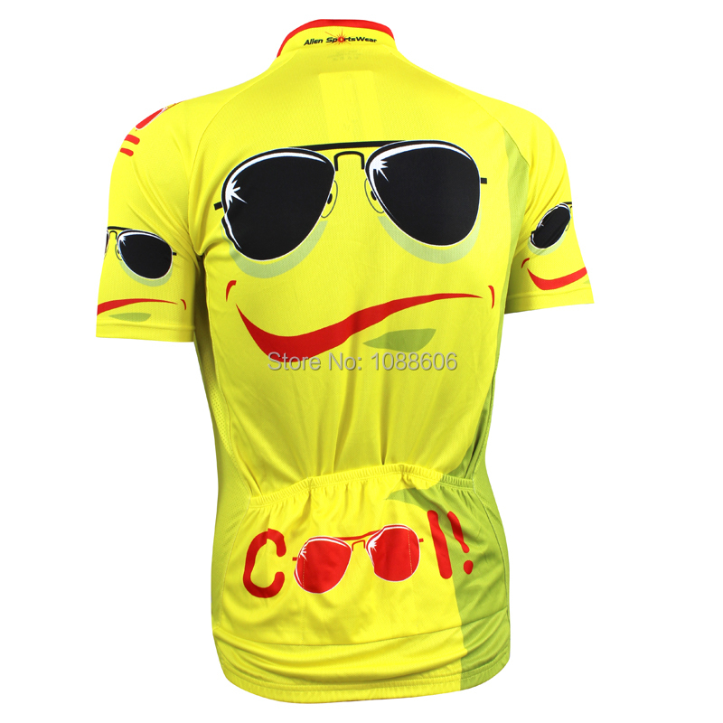 Classic Creative Cool Sunglasses Cycling Jersey Short Sleeve Bike Shirt  Size 2XS To 5XL-in Cycling Jerseys from Sports   Entertainment on  Aliexpress.com ... 368ad1b83