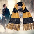 2016 Movie Fantastic Beasts and Where to Find Them Newt Scamander Cosplay Soft Warm Winter knitted Tasseled Slytherin Scarf