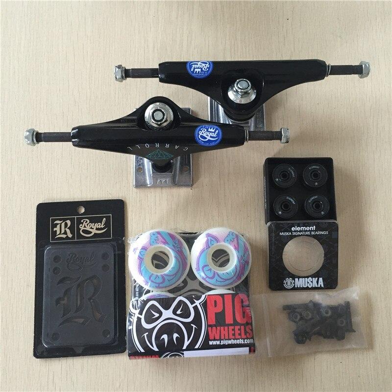 Pro Skate Board Original Royal aluminium 5.25