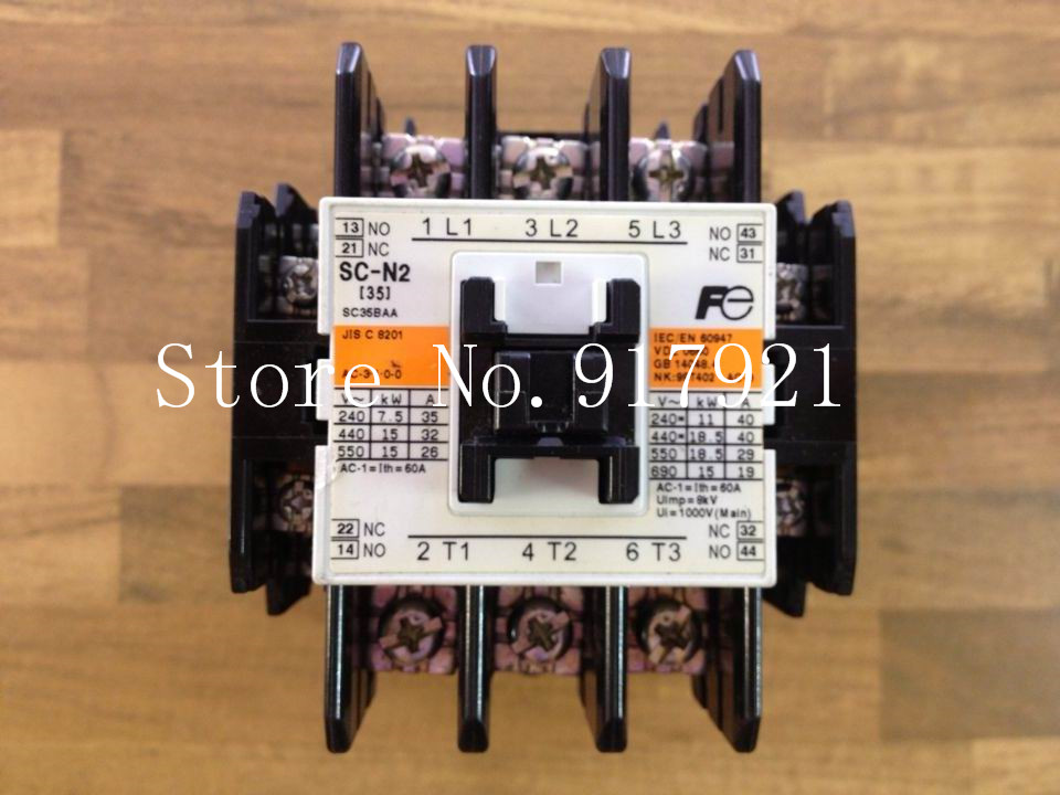 [ZOB] Original authentic Fe Fuji SC-N2 220V AC contactor 60A  --2pcs/lot new lp2k series contactor lp2k06015 lp2k06015md lp2 k06015md 220v dc
