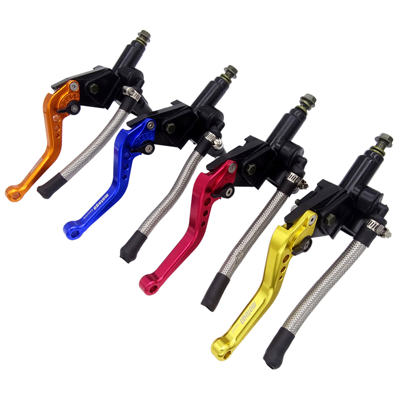 New Universal 7 8 22mm Motorcycle Hydraulic Adjust Brake Pump Clutch Lever Master Cylinder For Honda