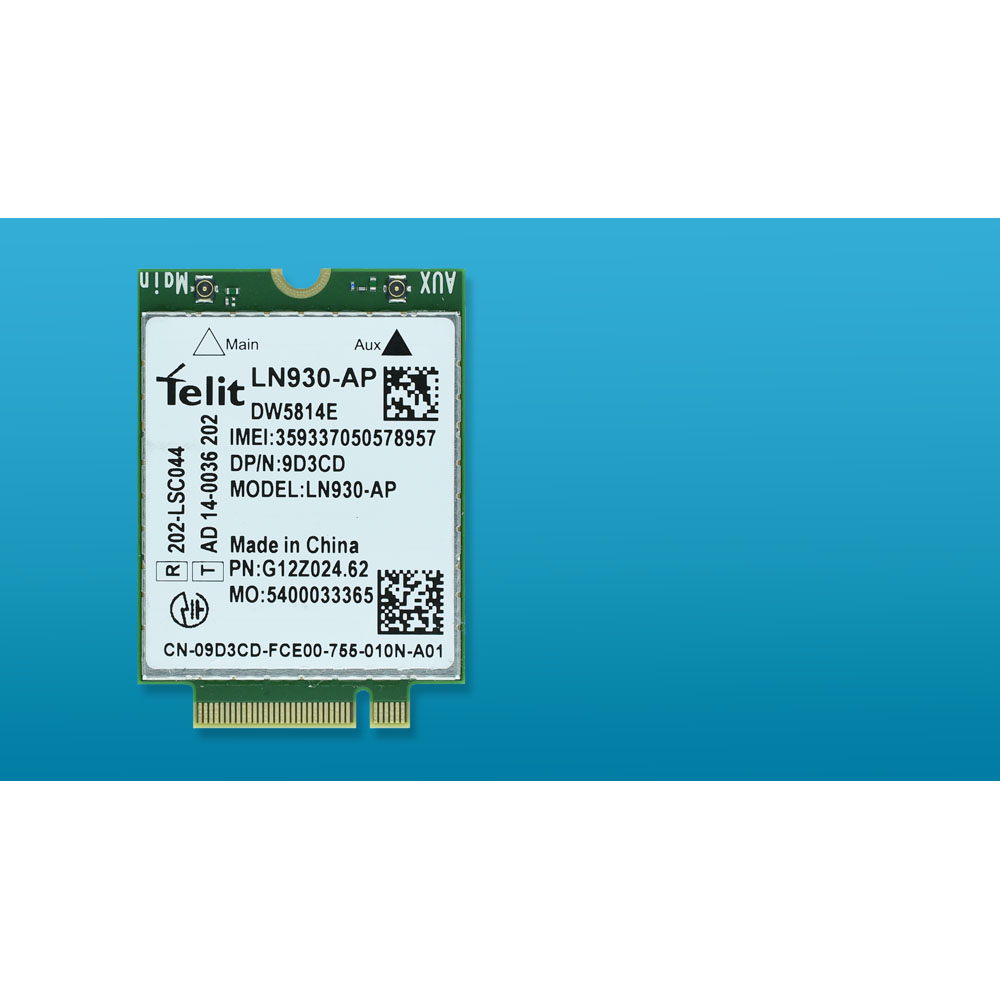 Unlocked LN930-AP DW5814e 9D3CD XFVM5 M.2 FDD LTE 4G WWAN Network Card For Dell Laptop PK DW5810e