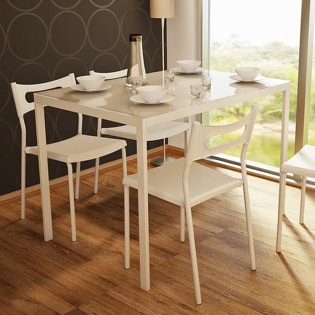 Chao suelo moda simple pequeño apartamento moderno comedor cristal ...