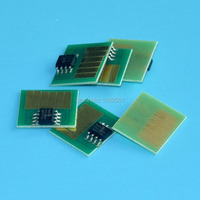 Frete grátis! 6 cores de tinta BCI-1411 dye cartucho de chips/chips compatíveis para Canon w8400 w8200 w7200 DYE impressoras