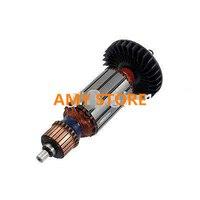 AC220V 22mm Commutator Makita 9523NB Replacement Electric Motor Rotor