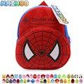 MAIHOO regalo de Los Niños de kindergarten mochila niño mochila de Peluche bebé spiderman spider man diseño schooltas escuela niño juguetes de peluche bolsa