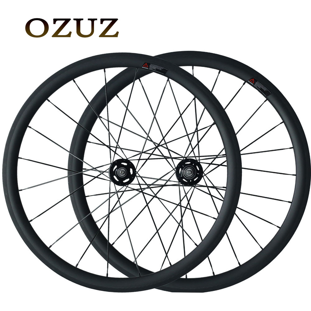 Free Customs Fee 38mm 50mm Clincher Carbon Track Fixed Gear Free Gear Bicycle Wheelset Single Speed Fixed Bike Wheels track fixed gear front 38mm rear 50mm depth clincher single speed carbon track wheels road bike bicycle wheel 3k matte or glossy
