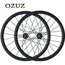 Free Customs Fee 38mm 50mm Clincher Carbon Track Fixed Gear Free Gear Bicycle Wheelset Single Speed Fixed Bike Wheels